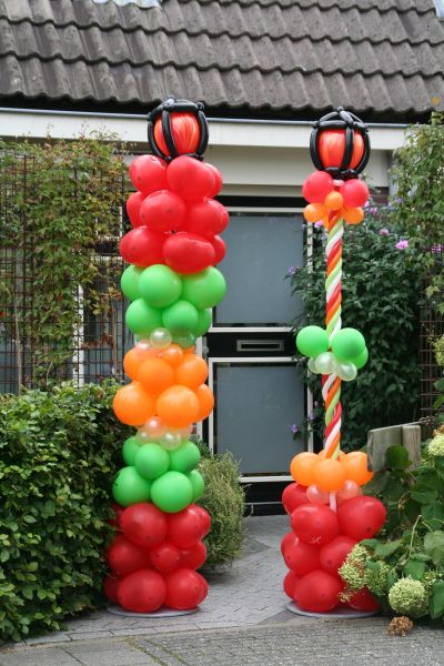 ballondecoraties, ballonnen en helium van de Clown en de Koffer